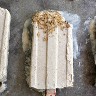 Ginger and Honey Cheesecake Ice Pops