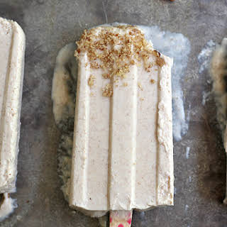 Ginger and Honey Cheesecake Ice Pops.