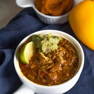 Crock Pot Paleo Chicken Chili.