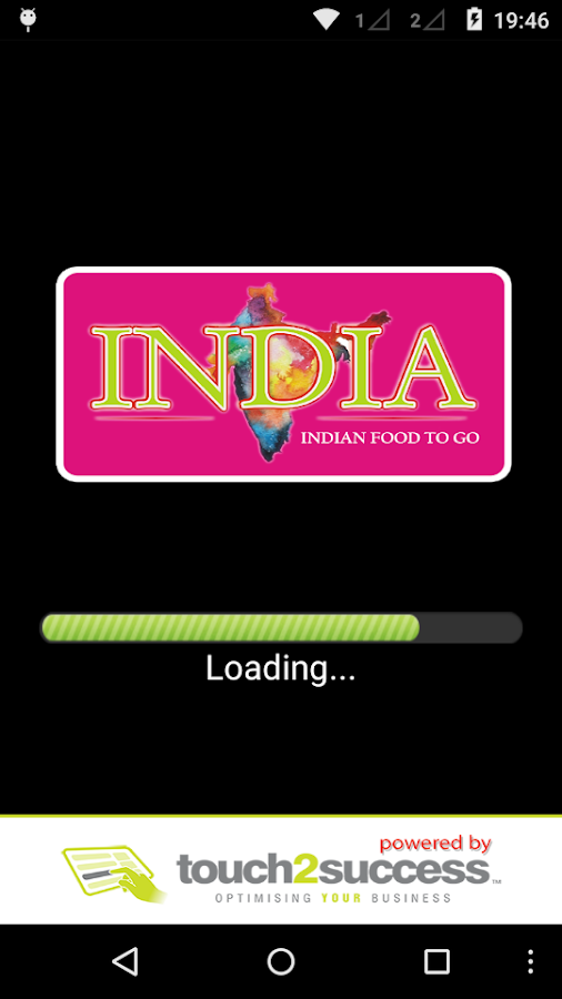India Food2Go- screenshot