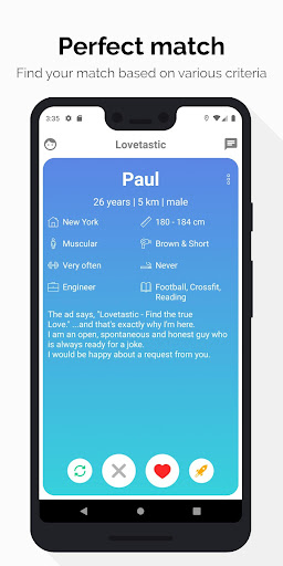 Lovetastic - Find your perfect date 2.0.5 screenshots 2