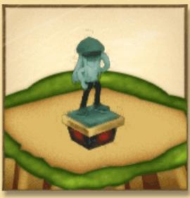 カイトの像
