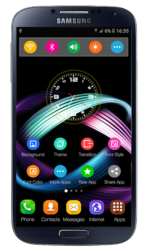 Launcher xiaomi Redmi Note 5 Theme 1.0.0 app download 2