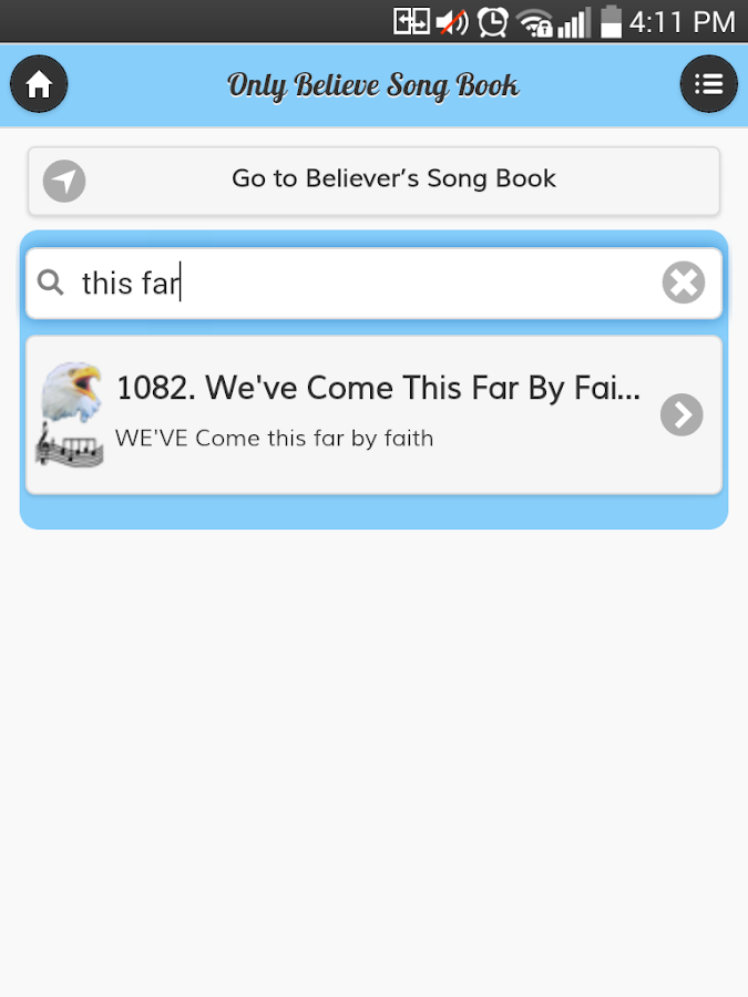 Only Believe & Believers Hymns - Android Apps on Google Play