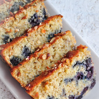 Lemon Blueberry Oatmeal Bread