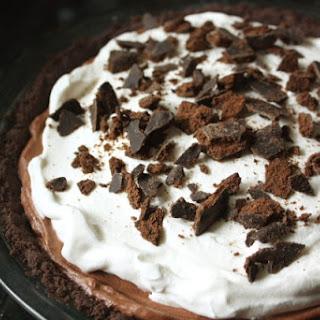Chocolate Thin Mint Pie