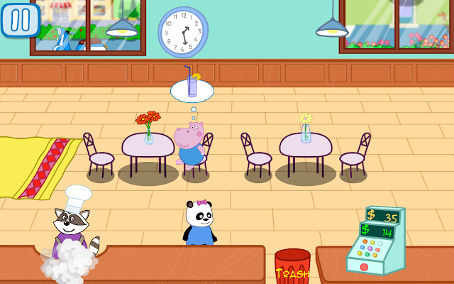 Panda's Pepa Cafe - screenshot