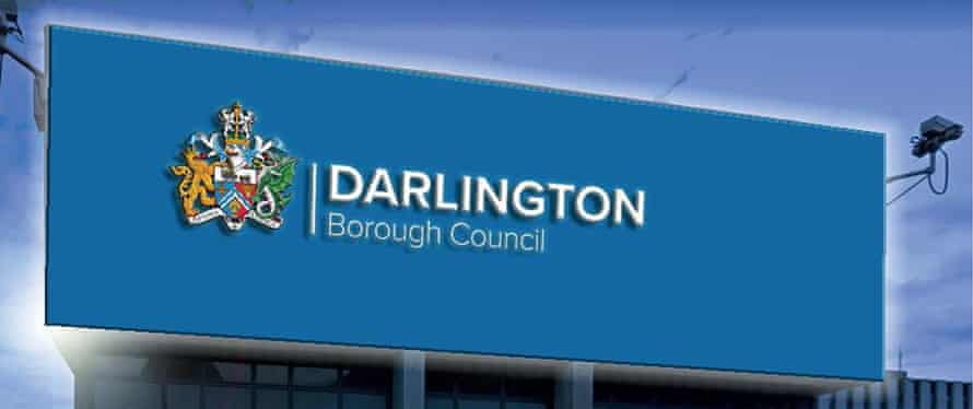 Darlington council's proposed facelift.