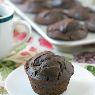 Chocolate Chunk Coffee Muffins.