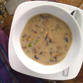 Creamy Mushroom Soup with Cashew Milk