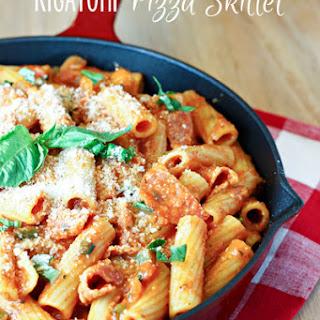 Rigatoni Pizza Skillet Recipe