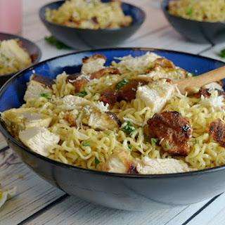 Chicken Ramen Noodles.
