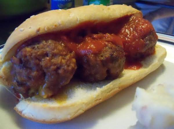 Cheesy Meatball Subs Recipe