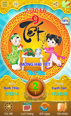 Lich Van Nien - Lịch VN 2016 7.5 screenshot 334422