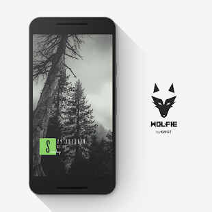 Wolfie for KWGT - náhled