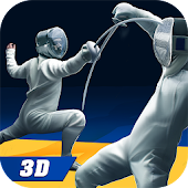 Fencing Fight Game - Swordsman Sports Duel