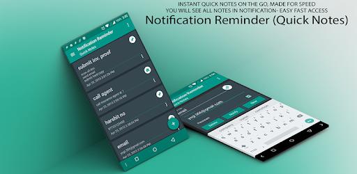 Resultado de imagen de Notification Reminder (Quick)