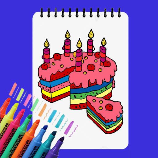 Happy Coloring Cake Coloring Spiel Kostenlos Apps Bei Google Play