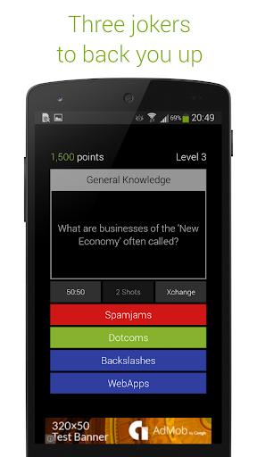 Quizoid: Free Trivia w General Knowledge Questions 4.4.11 screenshots 4