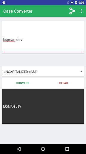 Screenshot 5 Case Converter