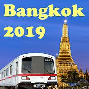Bangkok MRT Map 2019