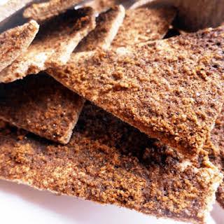 Cinnamon Sugar Paleo Pita Chips (Nut Free).