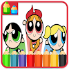Coloring For Powerpuff-Girls