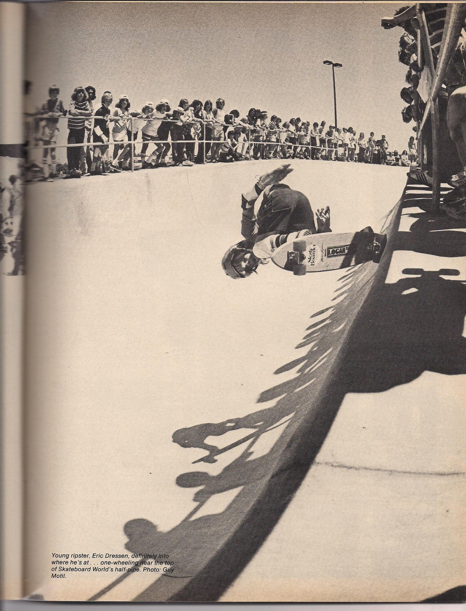 Photo: A young Eric showing he could rip at all the parks.
