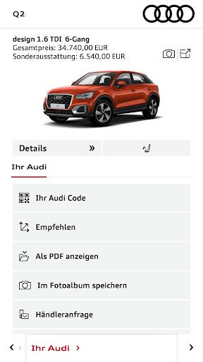 Audi Konfigurator Deutschland screenshot 4