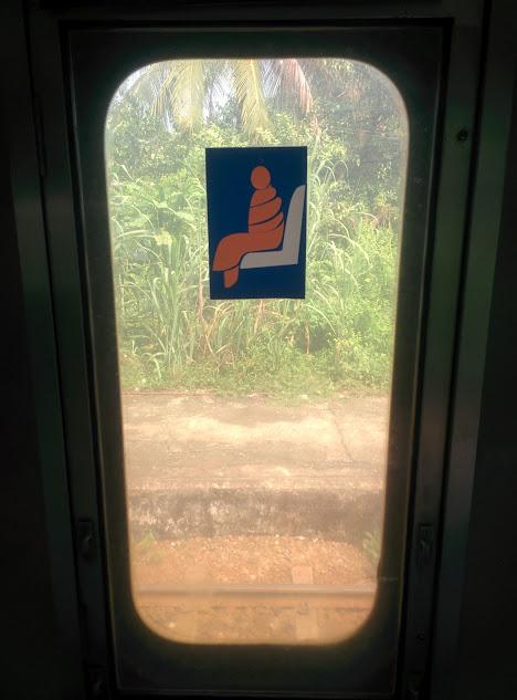 Monk Seat - Yangon Circular Train