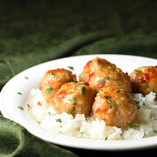 Thai Shrimp and Pork Meatballs