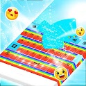 Keyboard Cute Rainbow icon
