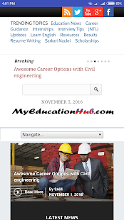 MyEducationHub- screenshot thumbnail