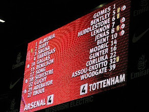 Photo: 29/10/08 v Tottenham Hotspur (Prem) 4-4 - contributed by Leon Gladwell