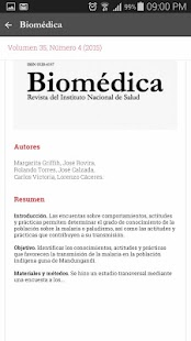 Biomédica- screenshot thumbnail