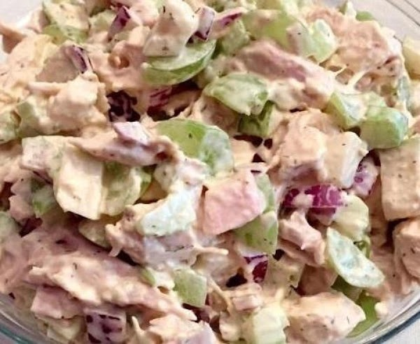 Chicken Pear Salad Wraps Recipe