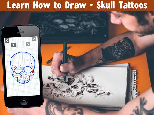 How To Draw Skull Tattoos 6.0 screenshots 1