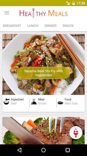 Healthy Eating - Healthy Food Recipes screenshot 1