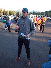 Photo: Race Director Dave Thomason