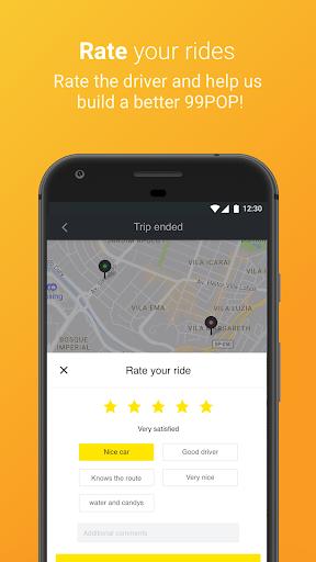 99 POP - Ridesharing 6.1.8 screenshots 4