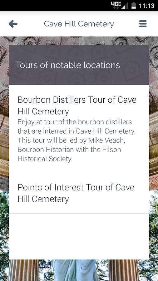 Cave Hill Cemetery- screenshot
