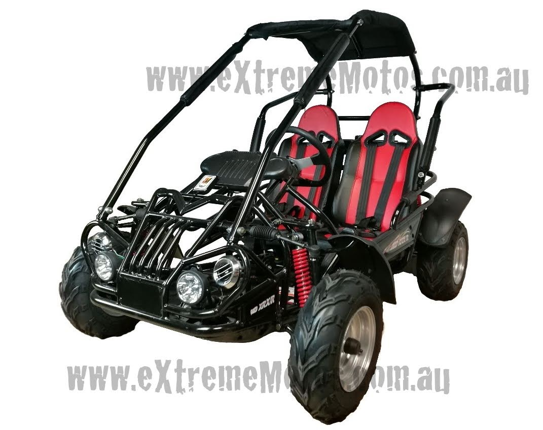 6.5Hp XRX Mid Trailmaster Kids Junior Twin Seater Dune Buggy Gocart