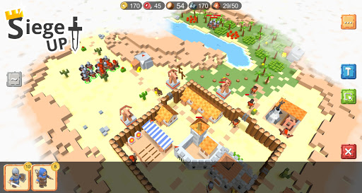 RTS Siege Up! - Medieval Warfare Strategy Offline apkmr screenshots 3