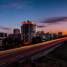 In the end of the day by Carlos Cardoso - City,  Street & Park  Skylines ( le, lisbon, day, end )