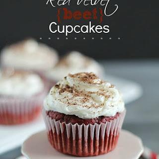 Red Velvet Beet Cupcakes.