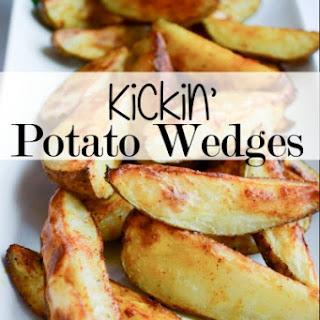 Kickin' Potato Wedges.