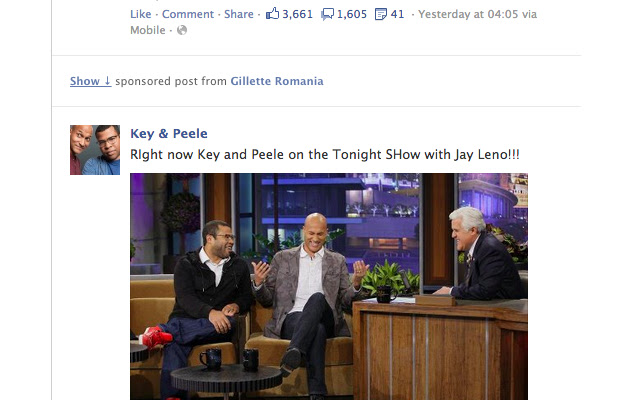 Hide Facebook Sponsored Posts