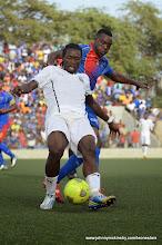 Photo: John Kamara (Leone Stars) [vs. Cape Verde, June 2013 (Pic: Darren McKinstry)]