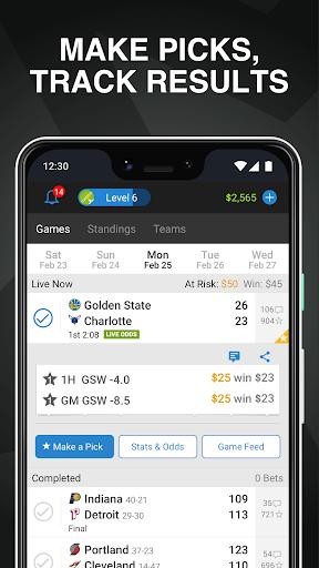 Onside Sports: Scores, Live Odds & Bet Tracking Screenshots 4