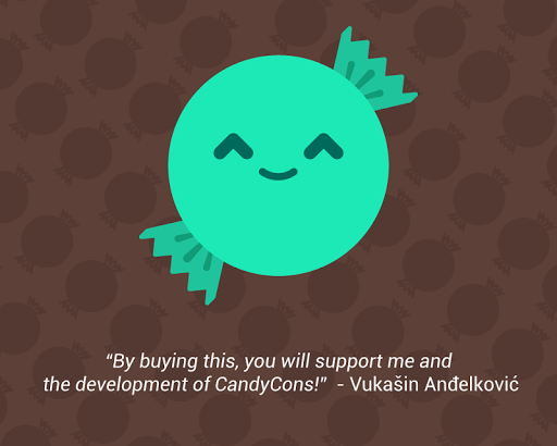 CandyCons Donation